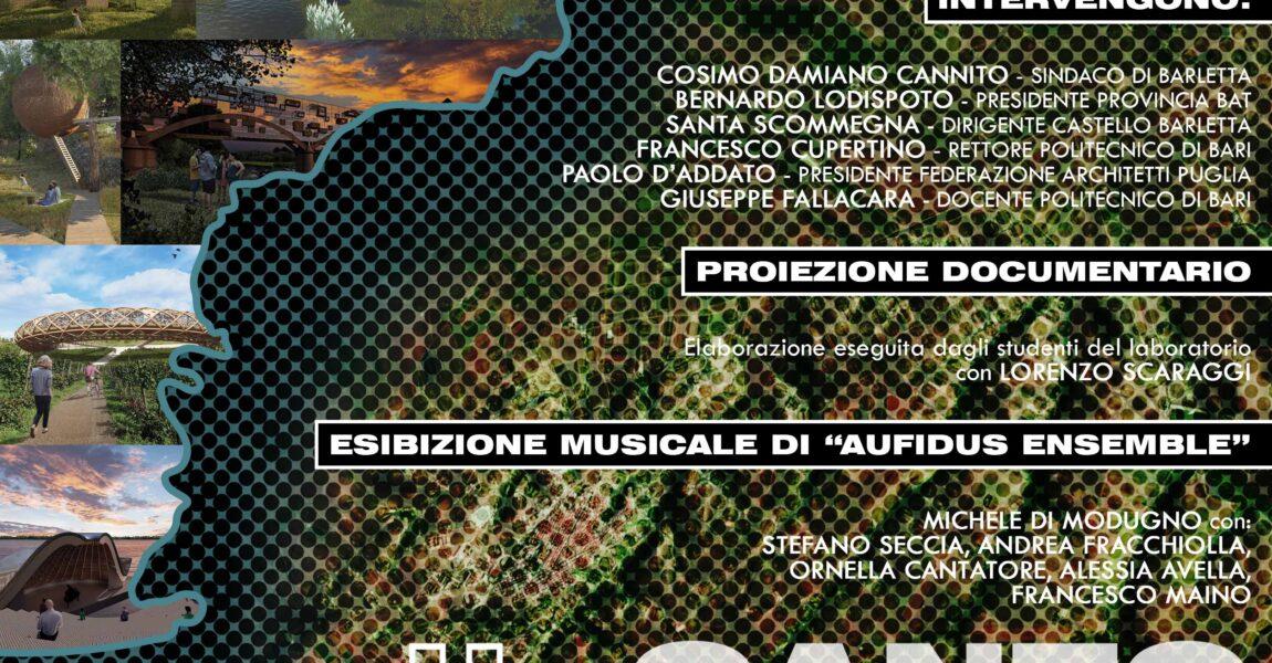 IL CANTO DELL'OFANTO _Mostra Progetti e Presentazione libro – dal 17.07.2021 al 31.07.2021 – Castello di Barletta
